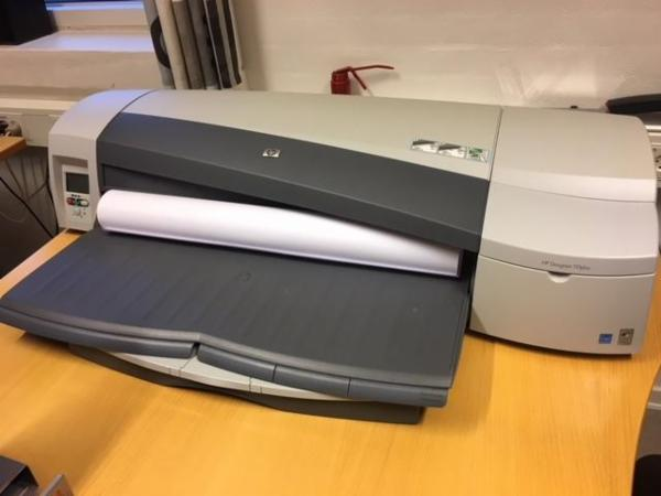 Printer Hp designjet 100