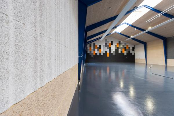 Troldtekt designløsninger til loft og væg
