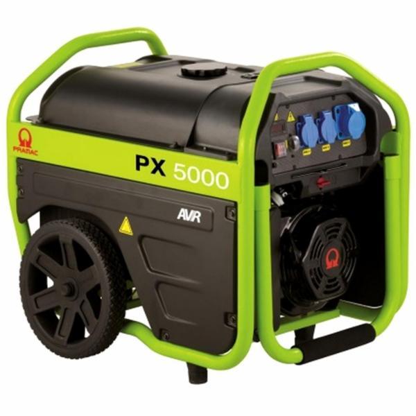 PX5000 Pramac Generator med hjul