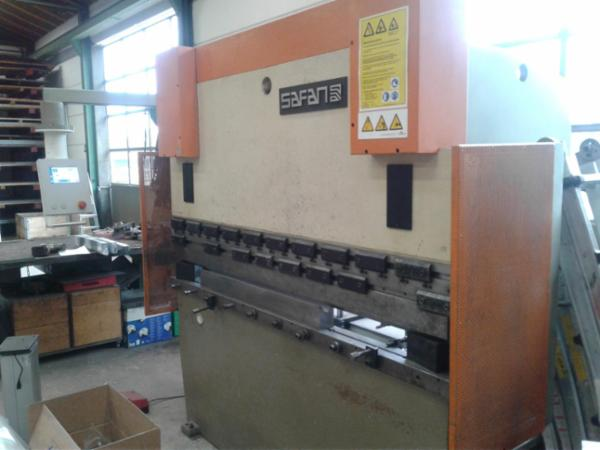 50 Tons 2050mm Safan kantpresser.