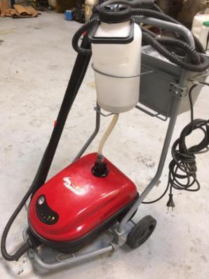 Brugt tørdamp maskine til Skimmel afrensning 220 V