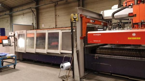 Bystronic laserskærer Byspeed 3015