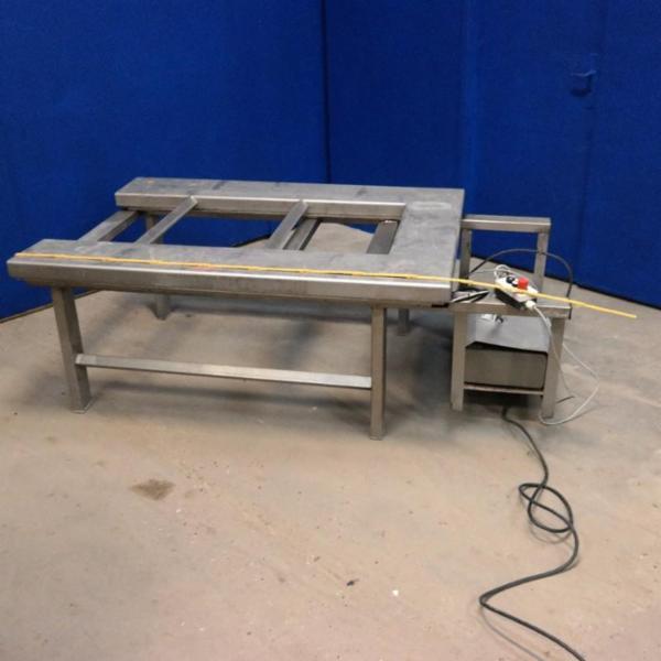 Rustfri løftebord, TRANSLYFT, type TUE1000
