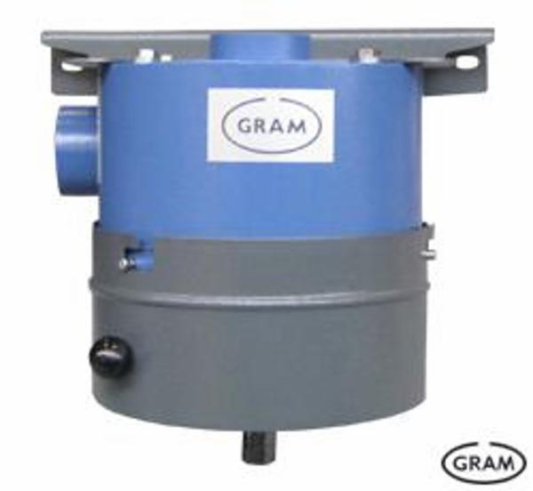 Olietåge filtrering med forfilter OUF samt centralfilter OUK fra VÅ Gram A/S