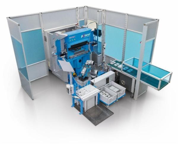 Robotcelle opstillet indkørt på en dag