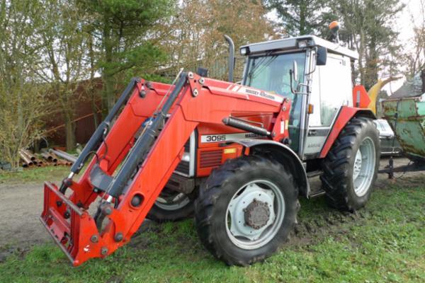 1593 Traktor, jordloppe, fejemaskine, pladevibrator, m.m. sælges via Campen Auktioner