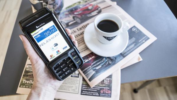 VX 690 - mobil betalingsterminal fra Verifone