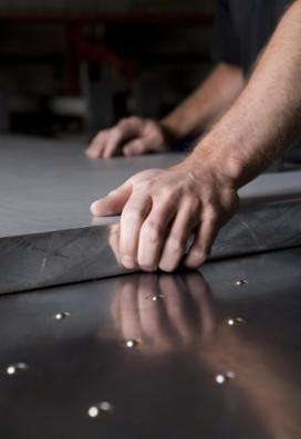 Aluminium støbte plader