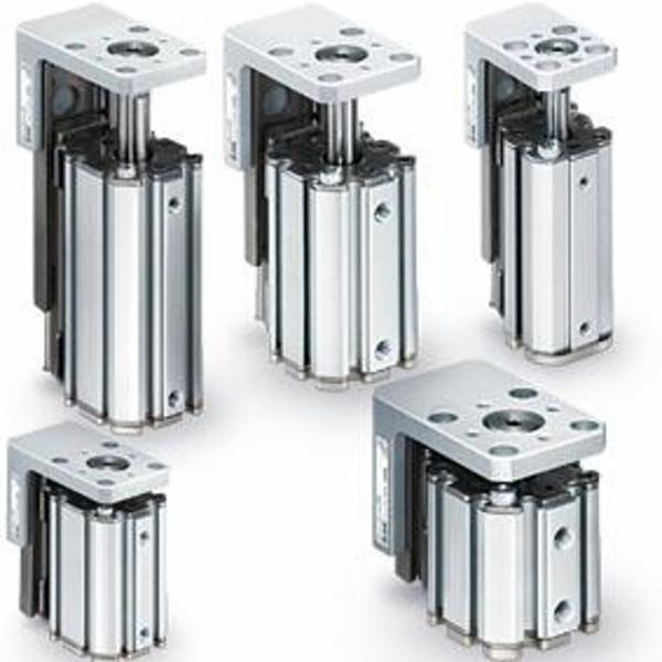 SMCs kompakte cylinder med linær føring - MXZ Serien