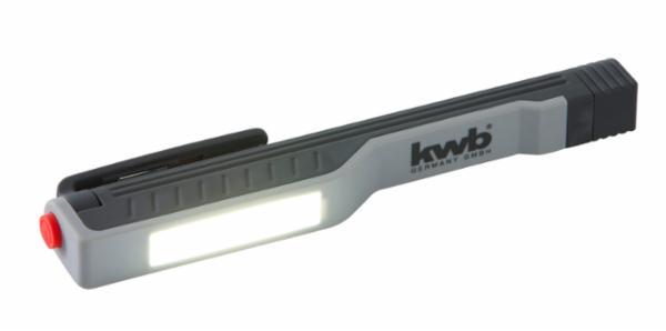 Pencillygte med magnet - COB-LED