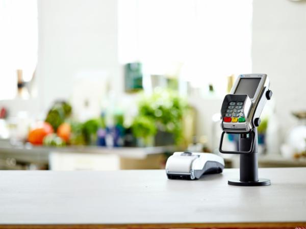 VX 820 2-delt betalingsterminal fra Verifone