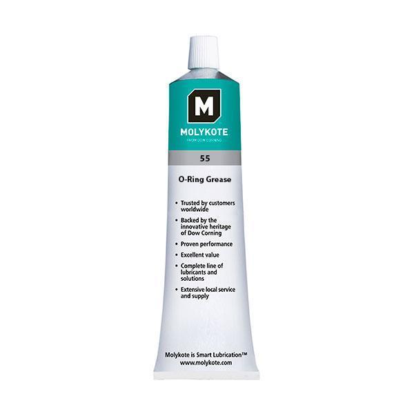 MOLYKOTE 55 smørefedt, Off-white, tube 100 g