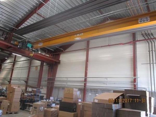 Brugt traverskran 5 ton Verlinde x 14,3 mtr. spænd meget velholdt sælges