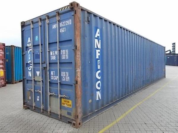 852229-0 40'HC skibscontainer