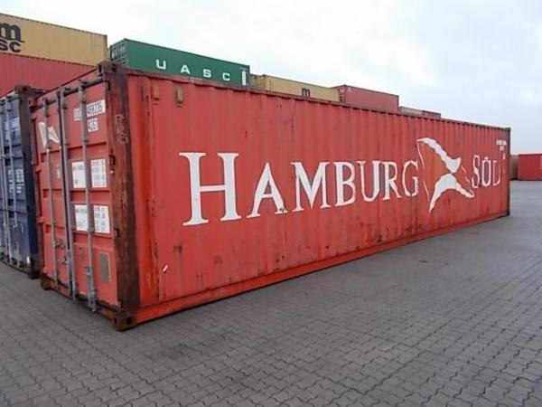 468235-6 40'container - lager /