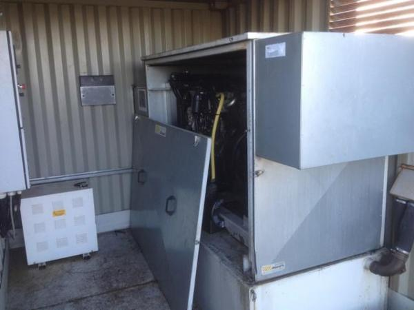 Generator - nødstrømsanlæg