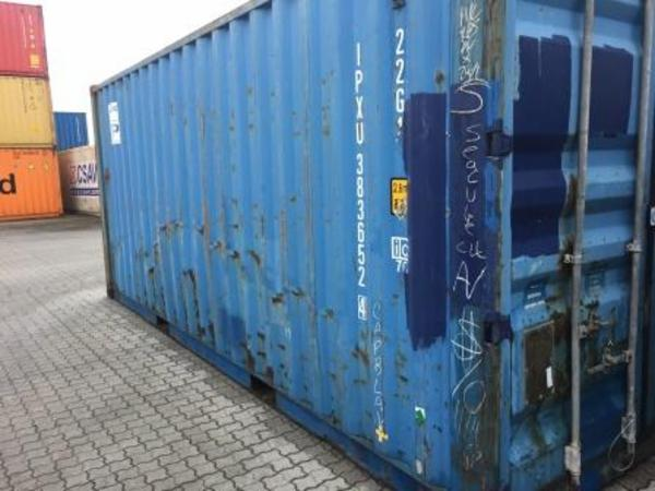 383652-4 20'skibscontainer