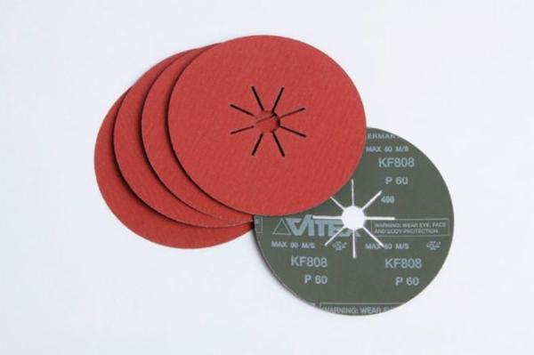 VSM fiberskive til stål og rustfrit stål