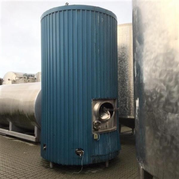 1 stk. 7,5 m3 rustfri tank V1013