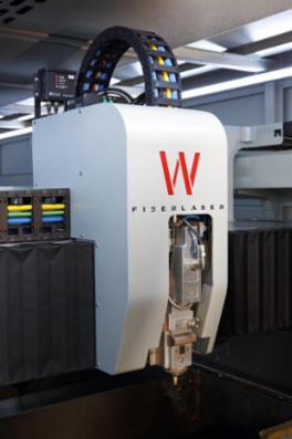 Warcom W-Fiber laser skæremaskiner med hastigheder på 2,8 meter pr. sekund fra BM Teknik