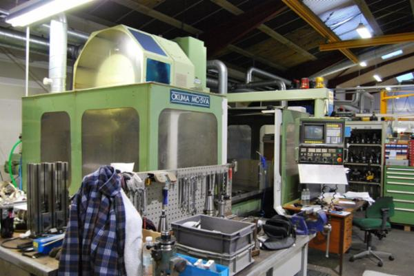 Okuma MC-5VA   -   CNC- Vert. Bearbejdningscenter