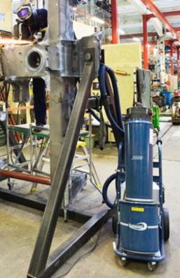 Komplet program af rengøringstilbehør til industrielle arbejdsopgaver fra Dansk Procesventilation