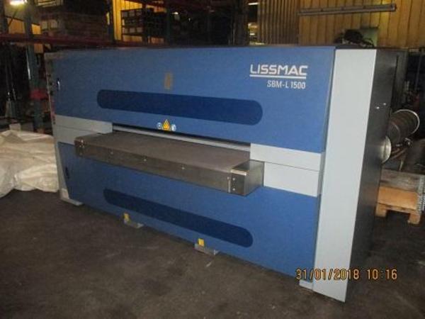 Lissmarc pladeafgrater 1500MM som ny sælges