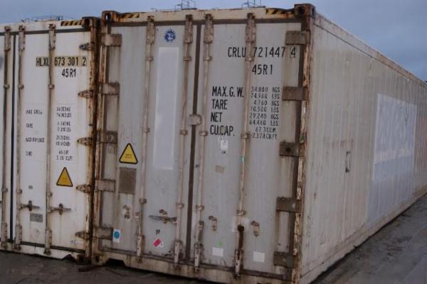 721447-4 40'HCR/isoleret skibscontainer