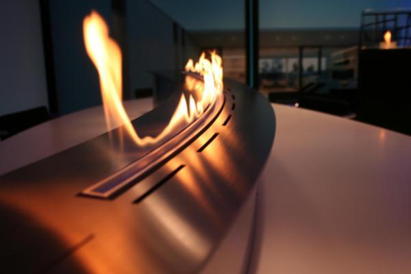 SPECIALDESIGNET curved bioethanolpejs