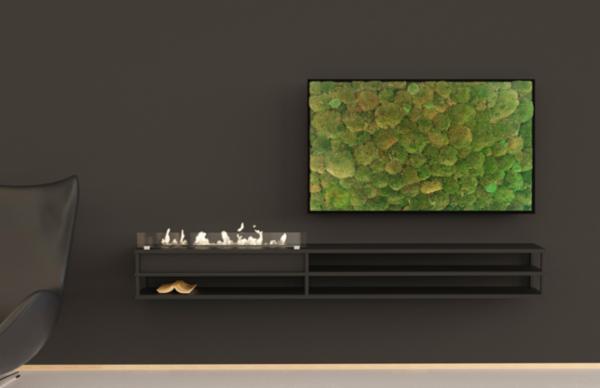 VÆGHÆNGT møbel med biopejs