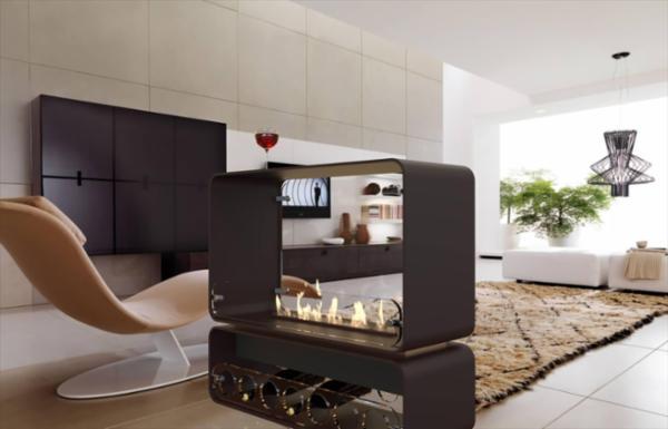 AUSTIN fritstående møbel biopejs