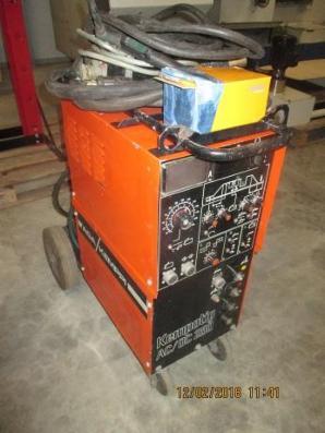 Brugt Kemppi tigsvejser 250 ampere AC DC  sælges