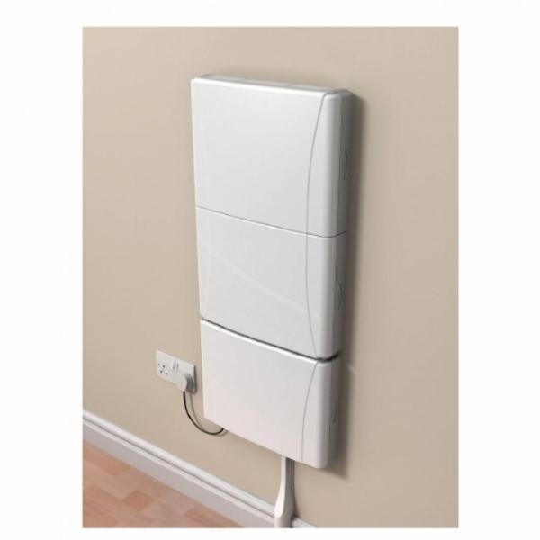 Stilfuld og hvid Home Hub Box - tom