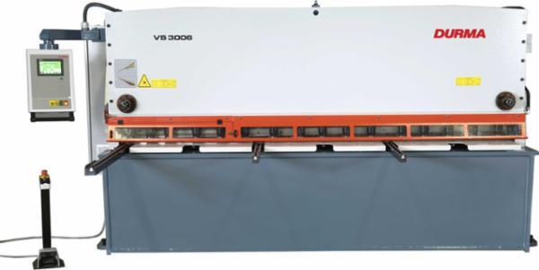 Durma CNC pladesakse med variabel klippevinkel model VS- 3006x6 mm