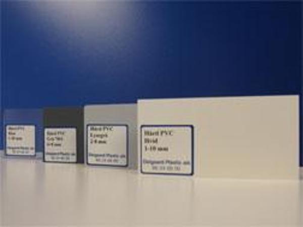 Farvede extruderede hårde PVC plader sælges