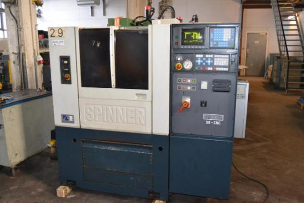 Spinner SB   -  CNC Drejebænk