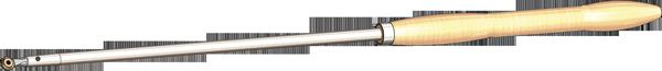 16 mm termit med bøg håndtag