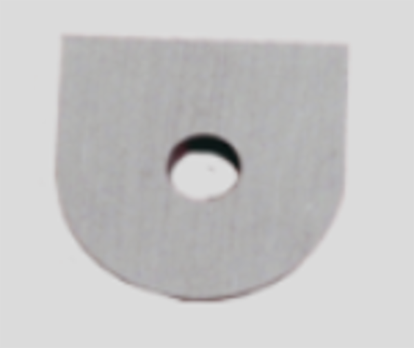 Udskiftelig skær til trædrejning 16x16 mm