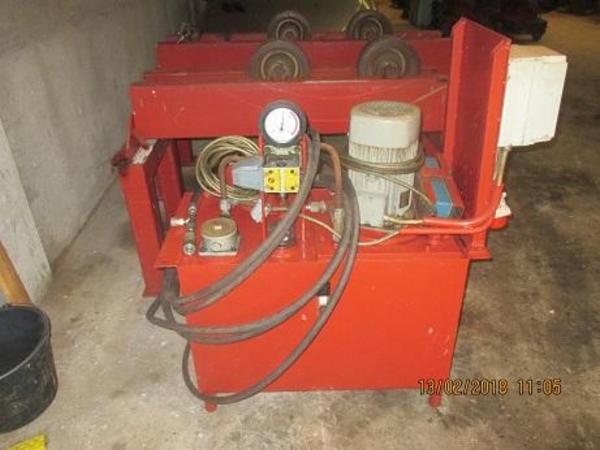 Brugte Esab hydrauliske rullebukke 3 ton sælges