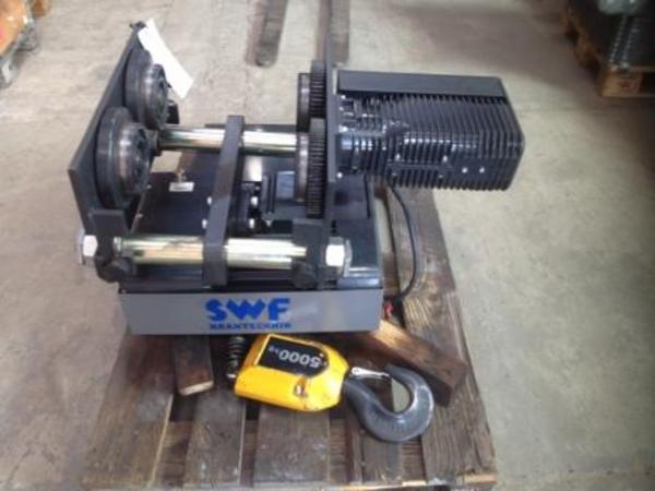 SYLVEST TRADING: Elkædetajle-Kædetajle - SWF - 5,0 T med elløbekat