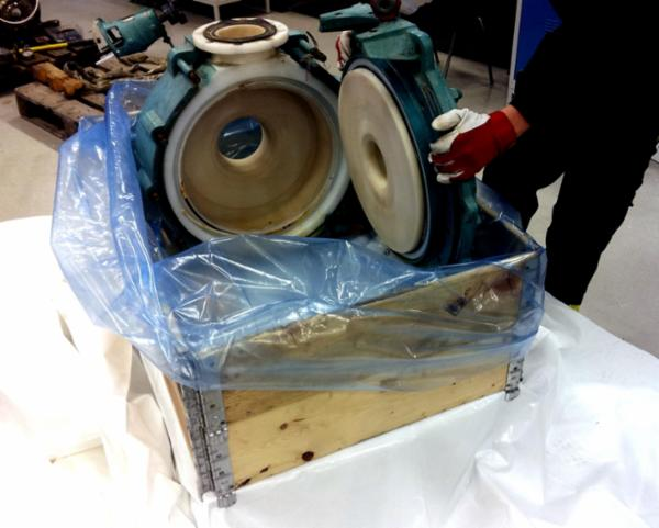 VCI pose med korrosionsbeskyttelse
