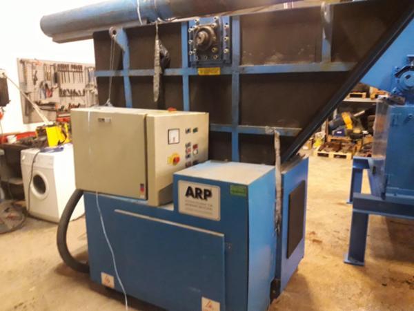 Brugt istandsat 1-akslet neddeler ARP GmbH EZ 50