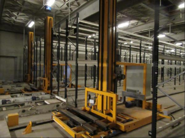 Robot pallelager til 1800 Europa paller
