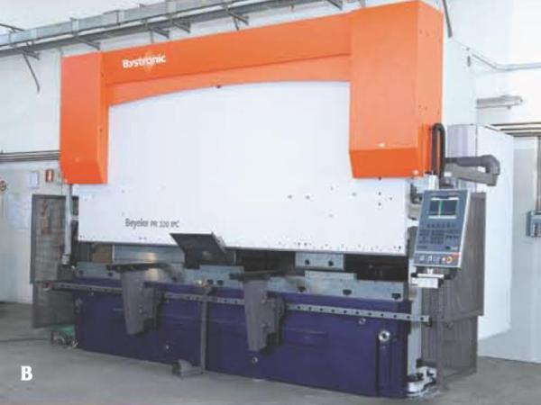 Brugt bystronic PR 320 x 4100 mm
