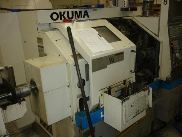 Brugt Okuma LCS - 15 drejebænk sælges