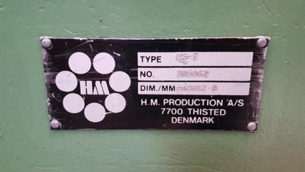 HS7 manuel bukker 2050/2mm