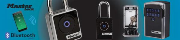 Bluetooth hængelåse og nøgleskab