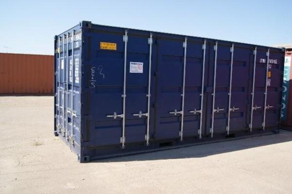 290540-5 20'SideDoor skibscontainer