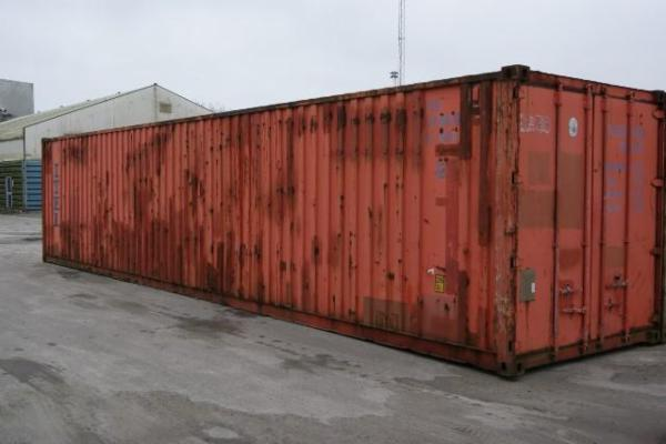 552939-0 40'skibscontainer - lager