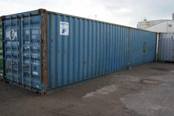 530108-0 40'DC skibscontainer.